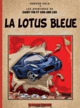 La Lotus bleue: Version reliée couleur [Poche]