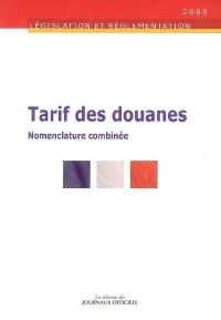 Tarif des Douanes 2008. Brochure 5135