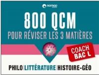 Coach Bac ES : 800 QCM pour réviser sur les 4 matières principales