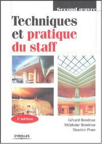 Techniques et pratique du staff