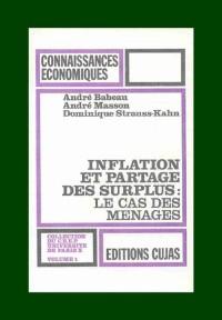 Inflation et partage des surplus : le cas des ménages