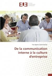 De la communication interne à la culture d'entreprise