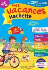Mes vacances Hachette CM1/CM2 - Cahier de vacances