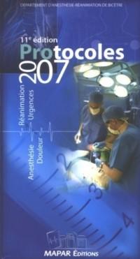 Protocoles d'anesthésie-réanimation