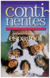Continentes : Espagnol, 4è LV2, 1ère année, pour l'élève (cassette audio)