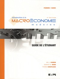Intro à la macroéconomie moderne - guide étudiant