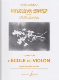 L'ABC du Jeune Violoniste Volume 3 : 30 Etudes Preliminaires