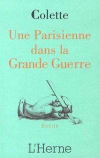 Une Parisienne pendant la Grande Guerre