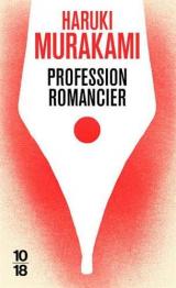 Profession Romancier [Poche]