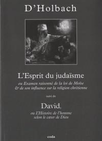 L'Esprit du judaïsme : Ou Examen raisonné de la loi de Moïse & de son influence sur la religion chrétienne suivi de David ou L'histoire de l'homme selon le coeur de Dieu