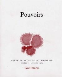Nouvelle Revue de psychanalyse 8. Pouvoirs