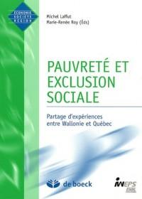 Pauvreté et exclusion sociale : Partages d'expériences entre Wallonie et Québec
