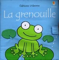 Grenouille (livre tissu)