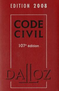 Code civil : Avec Lexique des termes juridiques (1Cédérom)