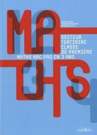 Mathématiques 1e Bac pro groupement C secteur tertiaire