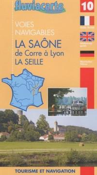 Les voies navigables de la Saône, la Seille et le Doubs : Guide de navigation fluviale