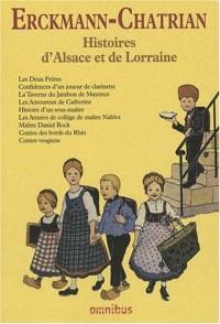 Histoires d'Alsace et de Lorraine