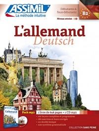 L'Allemand (Pack mp3: livre +1 CD mp3)