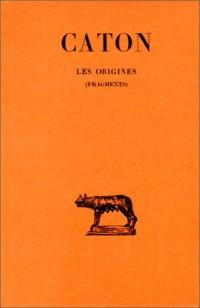 Les origines : fragments