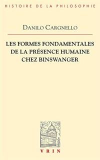 Les formes fondamentales de la présence humaine chez Binswanger