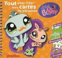 Littlest PetShop Tout pour créer mes cartes de vacances