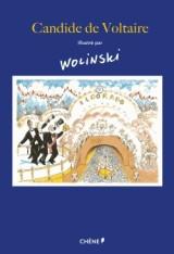 Candide de Voltaire illustré par Wolinski