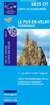Le Puy-en-Velay / Yssingeaux GPS: Ign.2835ot