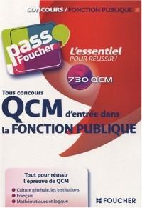 QCM d'entrée dans la fonction publique : Tous concours