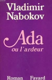 Ada ou l'Ardeur