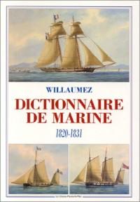 Dictionnaire de la marine, 1831
