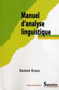 Manuel d Analyse Linguistique