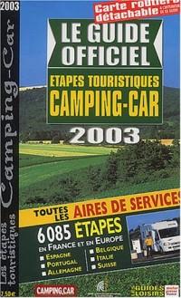 Le Guide officiel des étapes touristiques du Camping-Caravaning