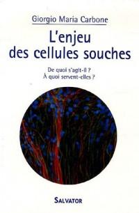 L'enjeu des cellules souches : De quoi s'agit-il ? A quoi servent-elles ?