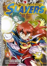 Slayers The Knight of Aqua Lord, Tome 6 :