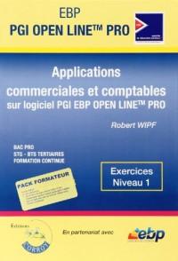 Ebp Pgi Open Line Pro. Pack Formateur. Applications Commerciiales et Comptables Sur Pgi Ebp Open Lin