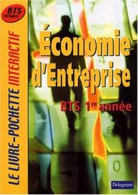 Le Livre-Pochette interactif : Economie d'entreprise, BTS 1ère année (Manuel)