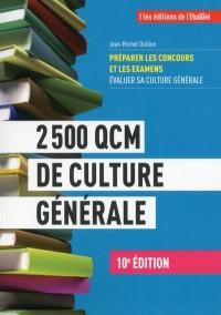 2 500 QCM de culture générale