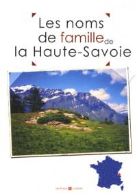 Les noms de famille de la Haute-Savoie
