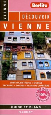 Vienne Flexi Map Plan de Ville Touristique Plastifie Infos Pratiques