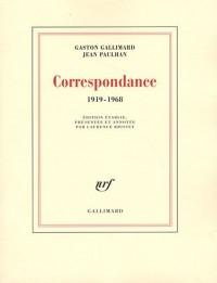 Correspondance 1919-1968