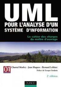 UML pour l'analyse d'un système d'information - Le cahier des charges du maître d'ouvrage