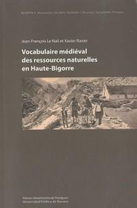 Vocabulaire médiéval des ressources naturelles en Haute-Bigorre