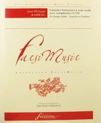 Cantates françoises à voix seule avec simphonie - 1729