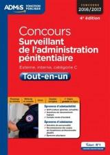 Concours Surveillant de l'administration pénitentiaire - Catégorie C - Tout-en-un - Concours 2016-2017
