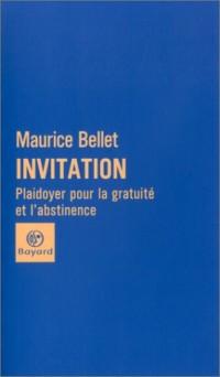 Invitation : Plaidoyer pour la gratuité et l'abstinence