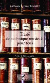Traité de technique musicale pour tous