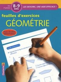 Feuilles d'exercices Géométrie 8-9 ans CE2