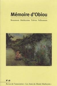Mémoire d'Obiou, N° 18 :