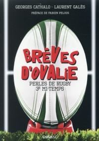 Brèves d'ovalie - Perles de rugby 3e mi-temps