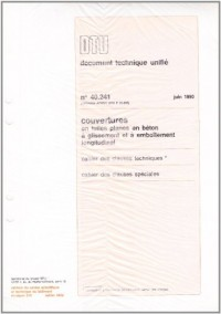 Dtu 40.24 Couverture en Tuiles en Béton a Glissement et a Emboitement Longitudinal